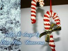 Come fare bastoncino di zucchero a uncinetto - Spiegazioni in italiano. | Cucito Creativo - Tutorial gratuiti - Idee Creative - Uncinetto - Riciclo Creativo