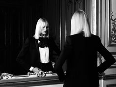 yves saint laurent le smoking campaign, 2012