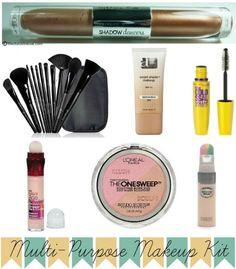 Multipurpose Makeup Kit [Drugstore Edition]