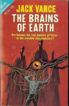The Brains of Earth by Jack Vance - art by Jack Gaughan