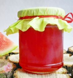 Preserves, Watermelon, Food And Drink, Treats, Homemade, Fruit, Healthy, Recipes, Canning