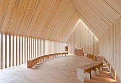 Forest chapel in Neckarzimmern.