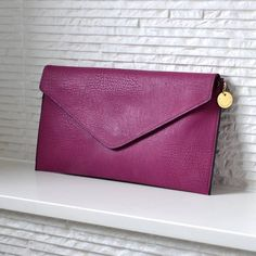 personalised clutch bag by lily belle | notonthehighstreet.com