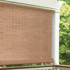PVC cord free roll-up exterior shades are the best way to block and defuse the sunlight and creates shade where needed. Use on a patio, sunroof, porch and portico with simple hanging hardware. The shades roll-up using small fasteners. Privacy Shades, Privacy Panels, Patio Privacy, Window Privacy, Outdoor Blinds, Indoor Outdoor, Outdoor Curtains, Outdoor Living, Blackout Roman Shades
