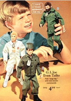 Vintage Christmas: G.I. Joe