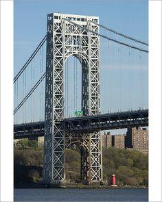 Made In America, North America, Framed Prints, Poster Prints, Canvas Prints, America Washington, Washington Heights, Hudson River, George Washington Bridge