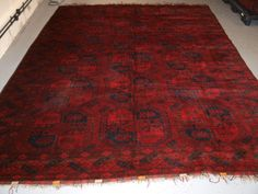 Extra Large Moroccan Beni Ouarain Rug Hand Knotted In