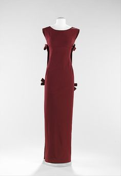 Evening Dress Cristobal Balenciaga, 1957 The Metropolitan Museum...