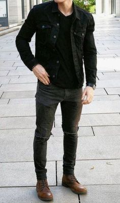 Mens Style Discover Trendy fall fashion outfits for men look cool 26 Fall Fashion Outfits Autumn Fashion Fashion Black Winter Outfits Men Men Fashion Casual Fashion Fashion Fashion Ideas Summer Outfits Winter Wear Men Stylish Mens Outfits, Fall Fashion Outfits, Autumn Fashion, Men Fashion Casual, Fashion Black, Fashion Fashion, Men's Casual Outfits, Outfits For Men, Men Casual Styles