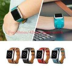 $15.28 (Buy here: https://alitems.com/g/1e8d114494ebda23ff8b16525dc3e8/?i=5&ulp=https%3A%2F%2Fwww.aliexpress.com%2Fitem%2FNew-1-1-Original-Quality-Cuff-Bracelet-Strap-Leather-Watchband-for-Pulseira-Cuff-Apple-Watch-Band%2F1000001896136.html ) New 1:1 Original Quality Cuff Bracelet Strap Leather Watchband for Pulseira Cuff Apple Watch Band 42mm 38mm With Metal Adapters for just $15.28