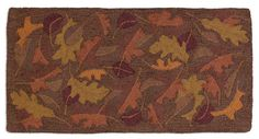 Fallen Leaves 2 x 4 Accent Rug