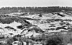 German positions around Nieuport, July 1917
