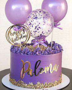 Girly Birthday Cakes, Candy Birthday Cakes, Birthday Cake For Him, Beautiful Birthday Cakes, Birthday Cakes For Women, Designer Birthday Cakes, Birthday Cake Designs, Elegant Birthday Cakes, Birthday Ideas