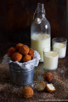 Waste not, want not! These dreamily light sweet arancini are the yummiest way…