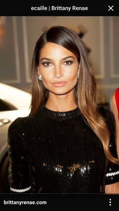 caramel hair Hair Caramel Ombre Lily Aldridge 58 New Ideas Highlights For Dark Brown Hair, Brunette Highlights, Dark Hair, Blonde Hair, Caramel Ombre, Caramel Hair, Ecaille Hair, Balayage Hair, Lily Aldridge Hair