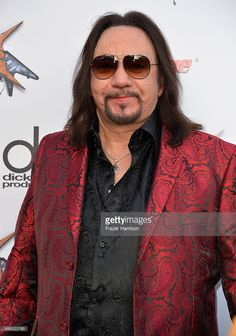 Musician Ace Frehley attends the 6th Annual Revolver Golden Gods Award Show at Club Nokia on April 23, 2014 in Los Angeles, California.