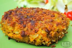 Linsenburger - Vega(n) burgers/vervangers - Burlap Wreath Vegetarian Recepies, Veggie Recipes, Healthy Recipes, Vegan Milk, Savory Snacks, Vegas, Soul Food, Food For Thought, Food Inspiration