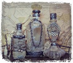I have a ton of old bottles, this is really a great idea! Great gifts for friends that like odd and different things <3