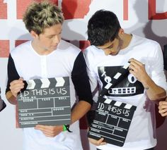Niall Horan and Zayn Malik