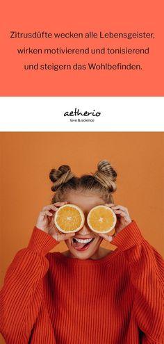 Zitrusaromen sind sehr gut verträglich und eignen sich besonders, wenn ihr noch nicht viel Erfahrung im Bereich der Aromatherapie gesammelt habt! #Orange #Zitrone #Mandarine Helfer, Babys, Crochet Hats, Science, Orange, Growing Up, Infant Seat, Families, Feel Better