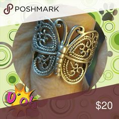 Sterling Silver Butterfly Ring Butterflies are Magical Jewelry Rings