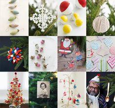 Sweet Paul's favorite DIY Christmas Tree Ornament Ideas! #SweetPaul #Ornaments #ChristmasTree