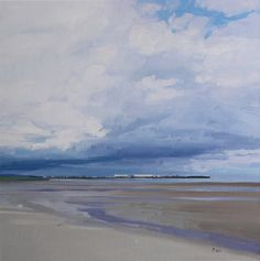 An artist in Troon, Ayrshire, Scotland. Paints landscapes and seascapes, from woodlands to shorelines. Interested in the influence of the sky, and its changing mood and atmosphere. Thumbnail gallery of his paintings. Abstract Landscape, Landscape Paintings, Abstract Art, Landscapes, Sea Paintings, Watercolor Paintings, Cityscape Art, Impressionist Art, Fauna
