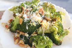 lemon roasted broccoli