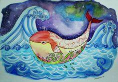 Bookillustration, aquarell, cartoon
