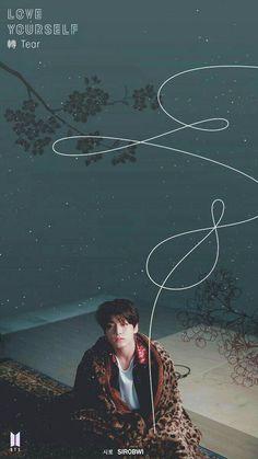 BTS-Love Yourself Tear Wallpaper Jungkook