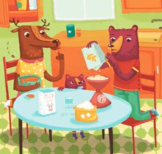 cooking time by Susanna Rumiz, via Behance