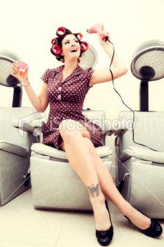 1000 images about elaine 39 s photo shoot on pinterest for 1950 s beauty salon