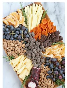 Fruit, Nuts & Chocol