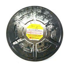 "Film Reel Case by Eastman Kodak, Large 15"" Vintage Film Can for 16mm Film Reel, Mid Century Man Cave Decor"