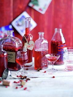 Spiced pomegranate gin