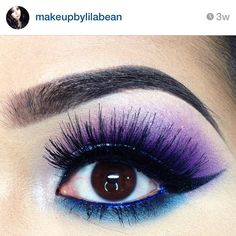 @makeupbylilabean posted this eye look 3 weeks ago and we still can't stop staring! She stacked our #cremelashes for the finishing touch. #makeup #motd #eyeshadow #lashes #fauxlashes