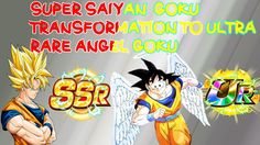 Super Saiyan 2 Goku SSR To Ultra Rare Awakening Angel Goku
