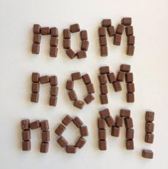 Three little words, by Wispa Three Little, Beverages, Candy, Popular, Chocolate, Food, Essen, Popular Pins, Chocolates