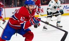 The Canadiens have gotten eight goals and 17 points in 41 games from free agent pickup Tomas Fleischmann this season, while rookie call-up Sven Andrighetto. Call Up, Nhl News, Free Agent, Montreal Canadiens, Hockey, Goals, Field Hockey