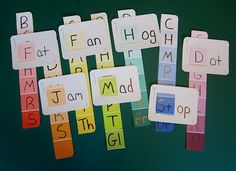 TEACH YOUR CHILD TO READ - Paint Chip Word Families can be a great visual activity for students. This activity would take a considerable amount of time to get together and keep up. Super Effective Program Teaches Children Of All Ages To Read. Reading Practice, Teaching Reading, Teaching Tools, Fun Learning, Teaching Kids, Teacher Resources, Family Practice, Phonics Reading, Learning Spanish