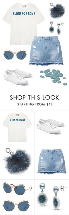 """""""As Love Is!"""" by schenonek ❤ liked on Polyvore featuring Gucci, Lacoste, Michael Kors, Steve J & Yoni P and Miu Miu"""
