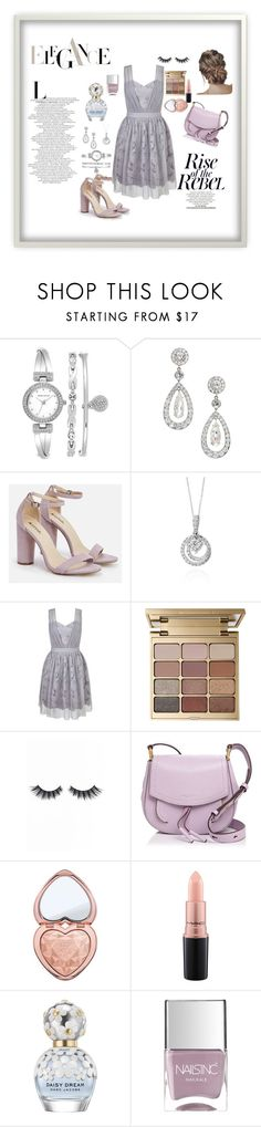 """Elegance"" by husejnbasic-belma ❤ liked on Polyvore featuring Anne Klein, JustFab, Effy Jewelry, Miss Selfridge, Stila, Violet Voss, Marc Jacobs, Too Faced Cosmetics, MAC Cosmetics and Nails Inc."