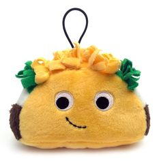 "Yummy World Flaco Taco 4"" Food Plush"