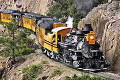Durango-Silverton Train - a wonderful experience.