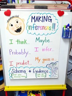 No David Activities and Quick Freebies - teach how to infer first grade