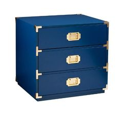 The delicate silhouette and refined proportions of the Loren Chest brings understated glamour to a room. Featuring three drawers for storage, the high-gloss lacquer finish of Loren is complemented with gold hardware. 3 Drawer Storage, Storage Chest, Bedside Storage, Drawer Hardware, Gold Hardware, White Chests, Accent Chest, Dressing Area, Living Room Furniture