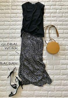 Long Skirt Fashion, 60 Fashion, Japan Fashion, Work Fashion, Fashion Outfits, Womens Fashion, Fashion Trends, Summer Outfits, Casual Outfits