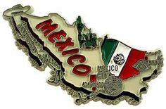 MGI Companies, Inc. - Mexico - International Country Shaped Map Magnets, $2.89 (http://www.internationalgiftitems.com/mexico-magnetic-map)