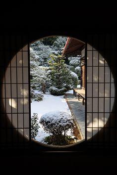 【額縁光景・その11】雪舟の庭の雪(芬陀院) : 花景色-K.W.C. PhotoBlog                                                                                                                                                                                 もっと見る