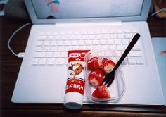 Fall in love with strawberry Enjoy your life
